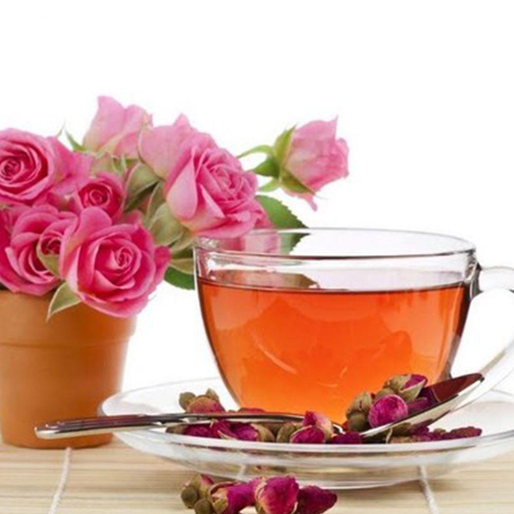 Trà hoa hồng là loại trà được làm từ cánh và nụ của hoa hồng