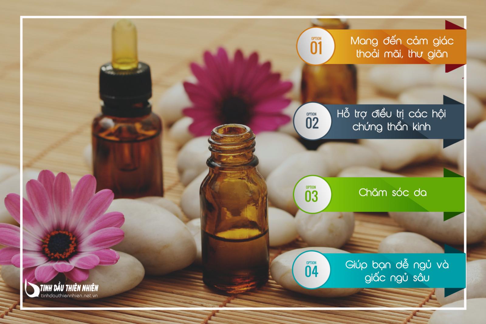Công dụng của tinh dầu thư giãn – Relaxing Esential Oil