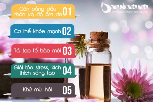 Những lợi ích khi sử dụng tinh dầu cam quýt